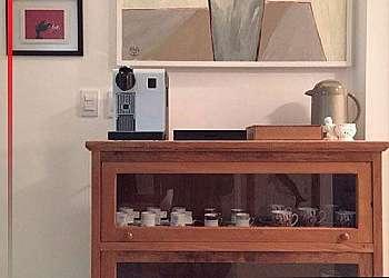 Armário rústico para cozinha