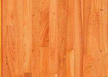 Assoalho de madeira branco