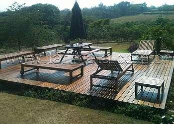 Deck de madeira preço m2