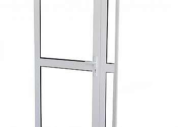 Porta de madeira acústica
